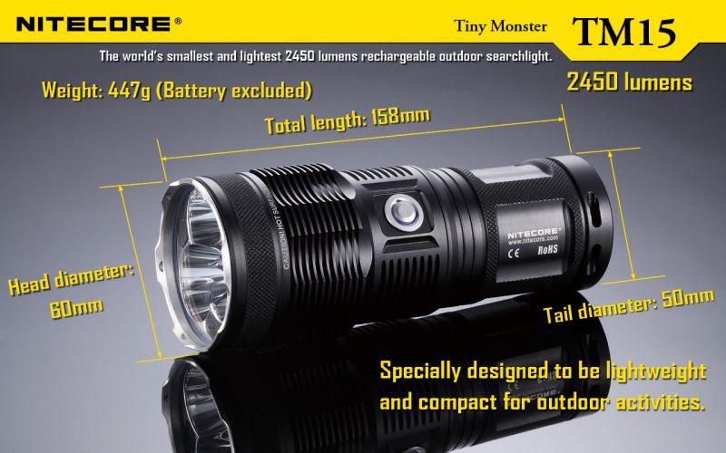 Nitecore-Tiny-Monster-TM15-Triple-XM-L-U2-LED